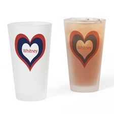 Whitney - Drinking Glass