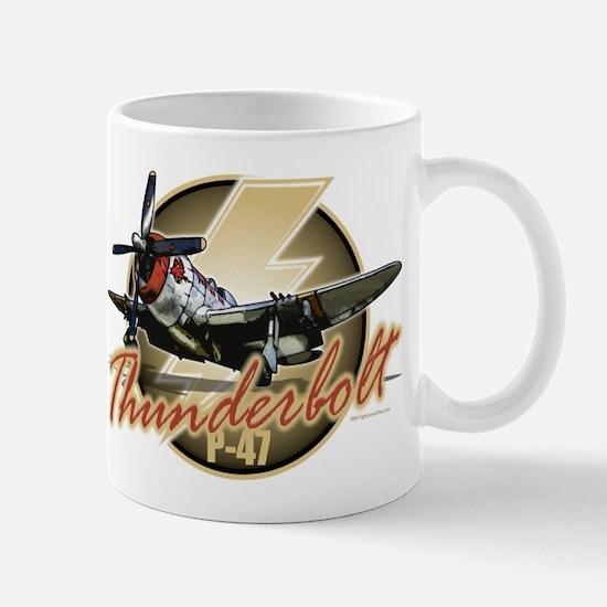 Thunderbolt P-47 Mug