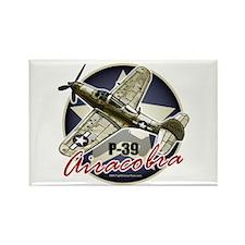 Airacobra P-39 Rectangle Magnet
