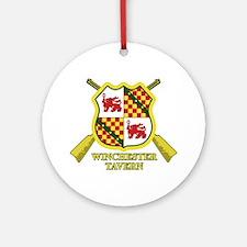 SD: Winchester Ornament (Round)