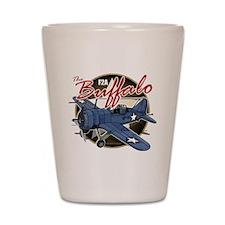 Buffalo F2A Shot Glass