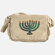 Menorah Messenger Bag