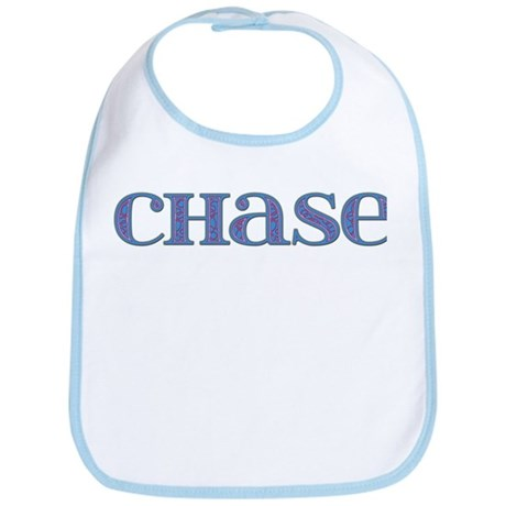 Chase Blue Glass Bib
