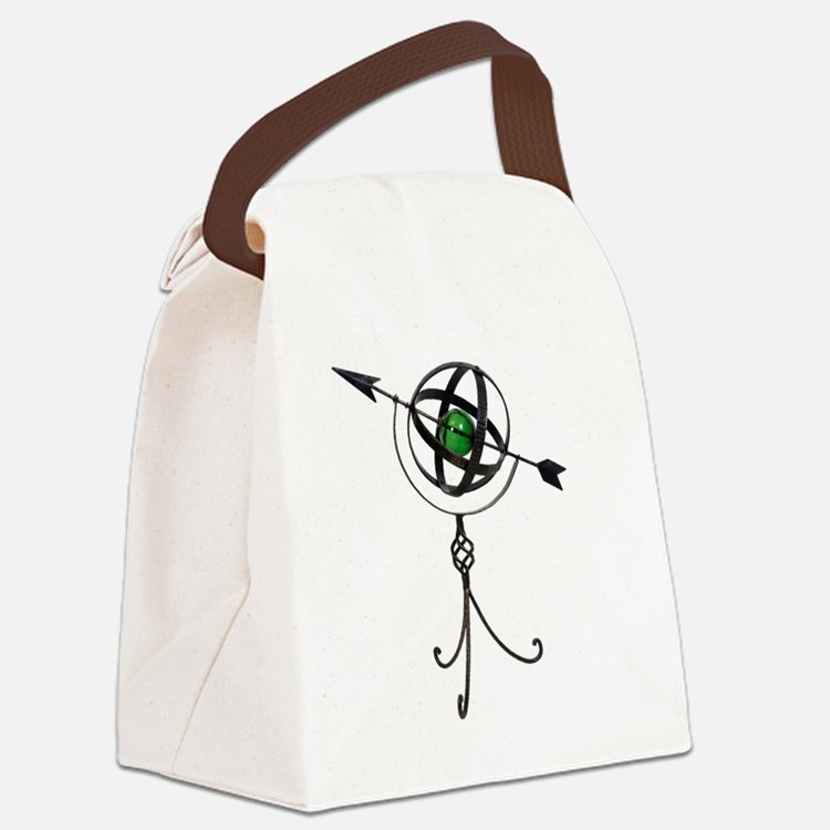 Astrolabe111409.png Canvas Lunch Bag