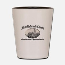 First Reformed Church Shot Glass