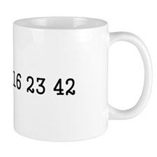 LOST numbers Small Mug