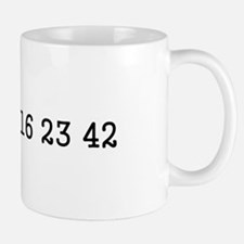 LOST numbers Small Small Mug