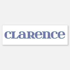 Clarence Blue Glass Bumper Bumper Bumper Sticker