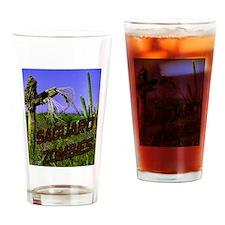 Saguaro Zombies Zombie 2 Drinking Glass