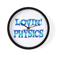 Physics Love Wall Clock