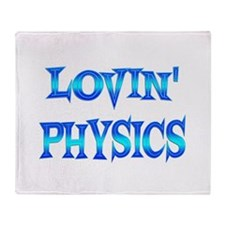 Physics Love Throw Blanket
