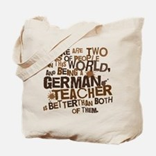 German Teacher (Funny) Gift Tote Bag