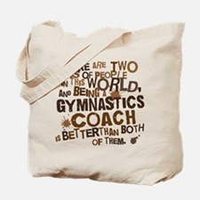 Gymnastics Coach (Funny) Gift Tote Bag