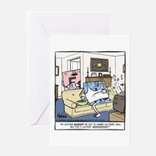 Inert Gas Greeting Card