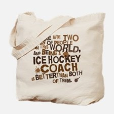Gift for Ice Hockey Coach Tote Bag