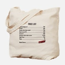 Unique High five Tote Bag