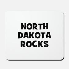 NORTH DAKOTA  ROCKS Mousepad