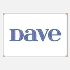 Dave Blue Glass Banner