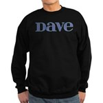 Dave Blue Glass Sweatshirt (dark)