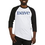 Dave Blue Glass Baseball Jersey