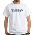 Dave Blue Glass White T-Shirt