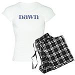Dawn Blue Glass Women's Light Pajamas