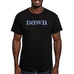 Dawn Blue Glass Men's Fitted T-Shirt (dark)