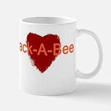 Heart Jack-A-Bee Mug