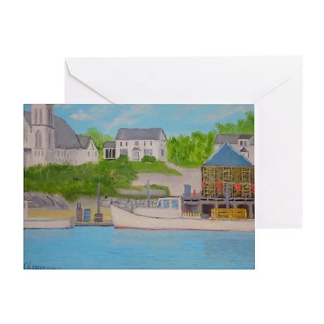 Boothbay Harbor II Greeting Card