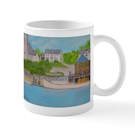 Boothbay Harbor II Mug