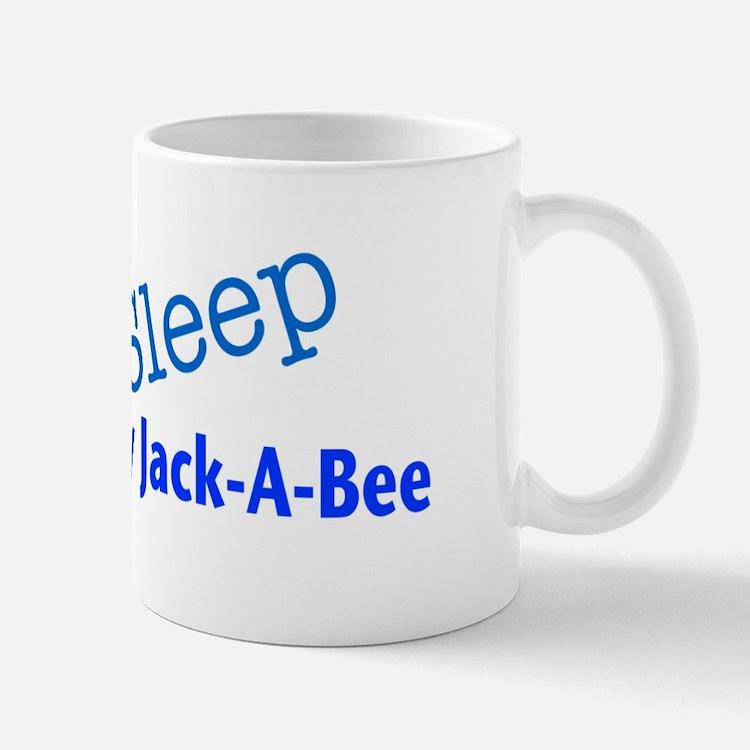 Eat Sleep Love My Jack-A-Bee Mug