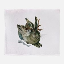 Wolpertinger Throw Blanket