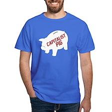 Capitalist Piggy Bank T-Shirt