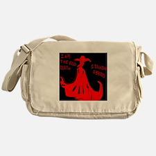 Red Death Messenger Bag