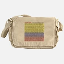 102 dichos colombianos Messenger Bag