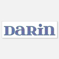 Darin Blue Glass Bumper Bumper Bumper Sticker