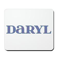 Daryl Blue Glass Mousepad