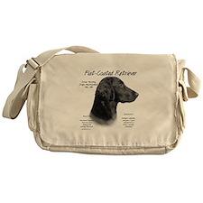 Flat Coat Messenger Bag