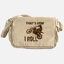 Motorcycle, that's how I roll. Messenger Bag