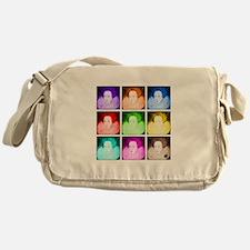 Pop Art Elizabeth I Messenger Bag