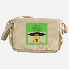 Duplicate bridge gift Messenger Bag