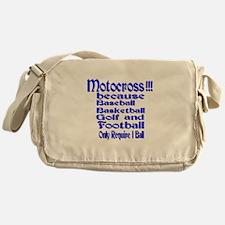 Motocross Messenger Bag