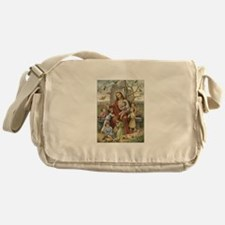 Jesus and Children Messenger Bag