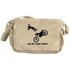 Motorcycle, Funny Motorcycle Stunts Messenger Bag