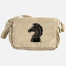 Chess Knight Messenger Bag