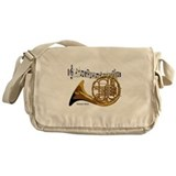 French horn Messenger Bag