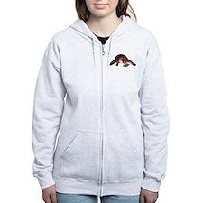 Platypus Zip Hoodie