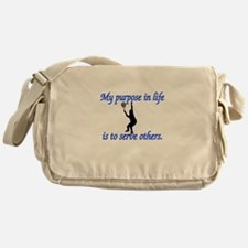 Purpose in Life is to Serve Messenger Bag
