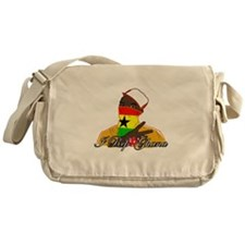 I rep Ghana Messenger Bag
