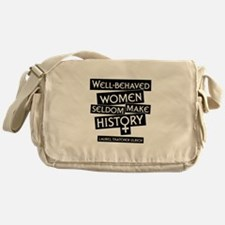 WELL-BEHAVED WOMEN Messenger Bag